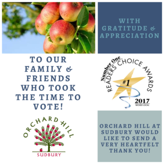 Thank You Wicked Local 2017 Reader's Choice Award Winner